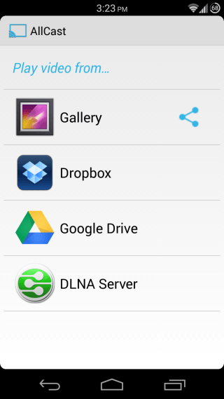 AllCast for Android 1